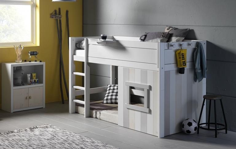 Kinderbett mit Htte  SCHNER WOHNEN