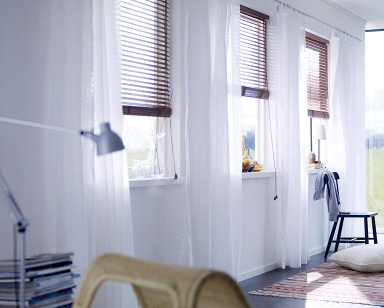 Holzjalousie Lindmon von Ikea  Bild 2  SCHNER WOHNEN