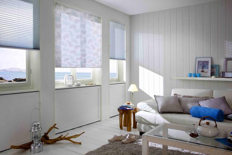 Plissees frs Fenster  praktische Hngedeko  SCHNER WOHNEN