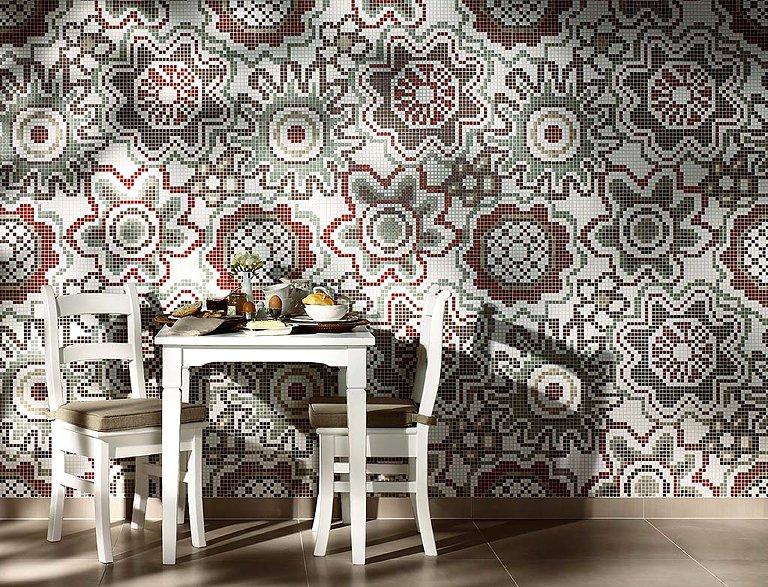 Mosaikfliesen fr Bad Kche und Wohnzimmer  SCHNER WOHNEN