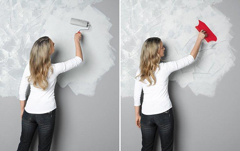 Wandgestaltung in Betonoptik  SCHNER WOHNEN
