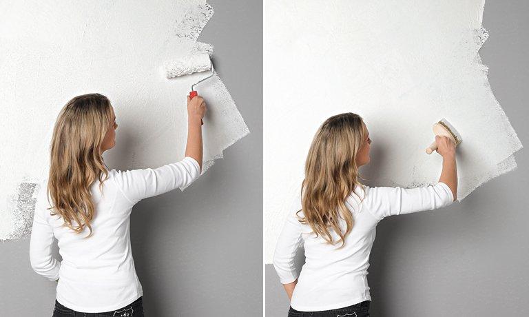 Wandgestaltung in WischOptik  SCHNER WOHNENFarbe  SCHNER WOHNEN