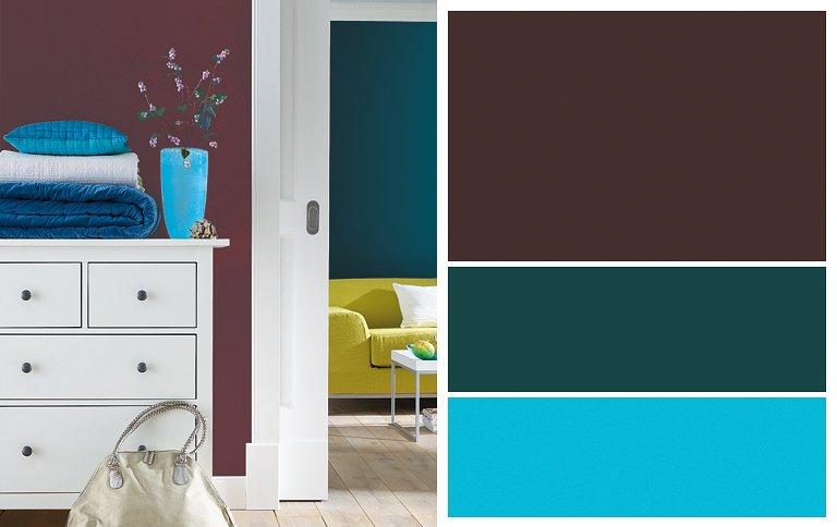 Wohnen mit Farben  Stilkarten von SCHNER WOHNENFarbe