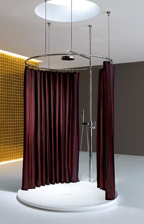 Duschvorhang  flexible Lsung fr Badewanne und Dusche  SCHNER WOHNEN