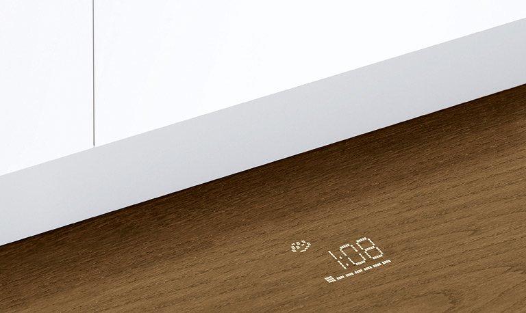 Projizierte Anzeige Geschirrspler Supersilence von Bosch  Bild 11  SCHNER WOHNEN