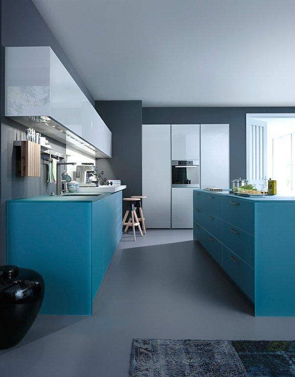 Trend Farbe Kochen in Meerblau Kche IosM von Leicht