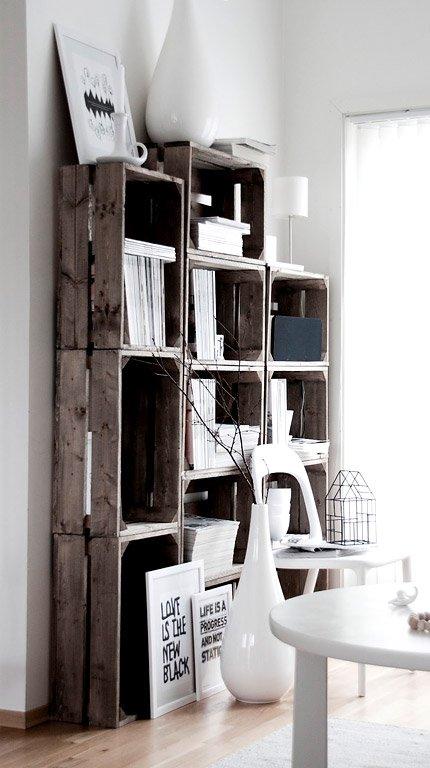Inspiration Mbel aus alten Holzpaletten und Obstkisten