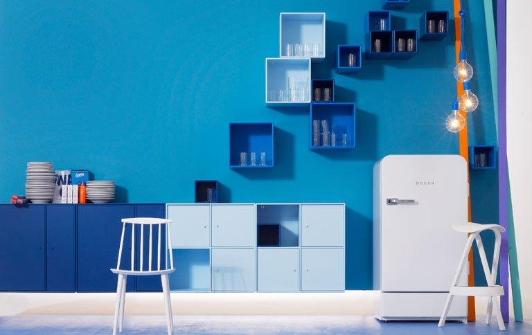 Wohnen mit Farben Wei lsst Blau strahlen  Bild 7  SCHNER WOHNEN