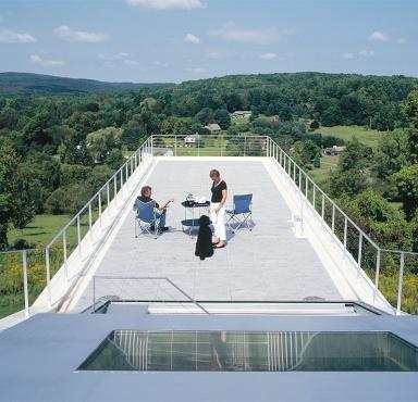 Eine Terrasse wie eine Aussichtsplattform  Bild 15