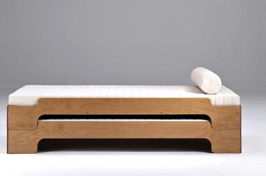 Stapelliege von Rolf Heide  flexibles Bett  SCHNER WOHNEN