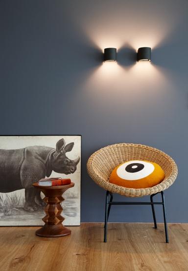 Inspiration Bhnenreif Taubengrau zu Orange und hellem