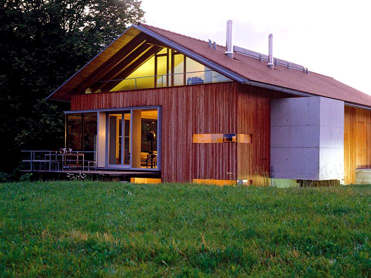 Modernes Landhaus mit Holzfassade  SCHNER WOHNEN