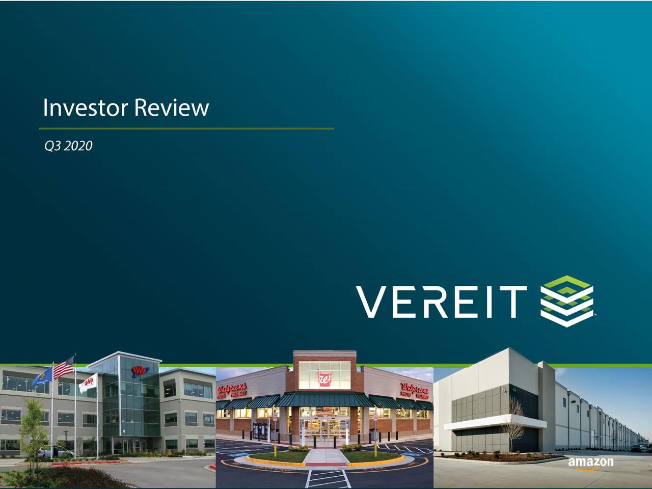 VEREIT (VER) Investor Presentation - Slideshow (NYSE:VER) | Seeking Alpha