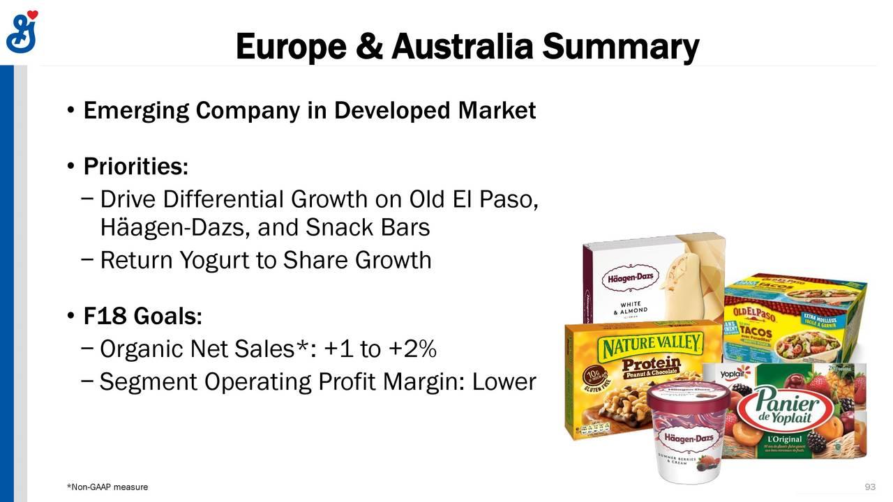 general mills gis investor presentation slideshow general mills inc nyse gis seeking alpha [ 1280 x 720 Pixel ]