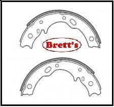 FN3384 H/BRAKE HAND BRAKE SHOE SET SHOES PARK BRAKE PAIR