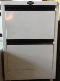 Precision Filing Cabinet, 2 Draw, Second hand Office ...