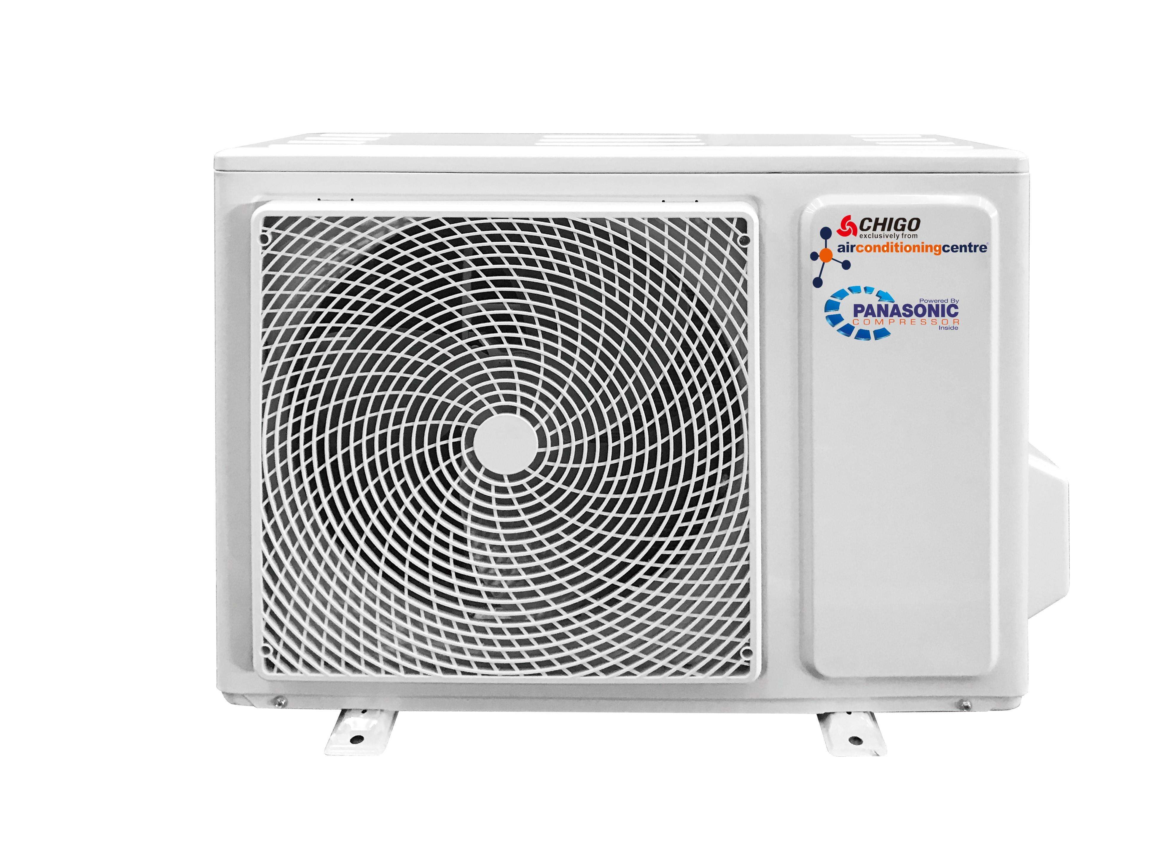 NEW KFR66-IW/AG 7.0kW Panasonic Powered R32 Split Air Conditioner with Wifi Capability and Black Gloss Fascia Aircon247.com   discount portable ...