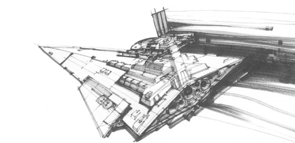 Chris Foss The Triangular Totalitarianism Kitbashed