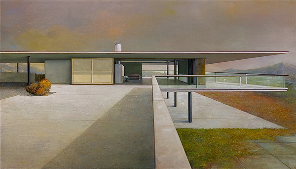 Painting Modernism architecture  art  MYD blog  Moss