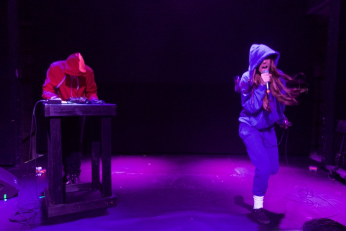Gazelle Twin live at Rough Trade NYC