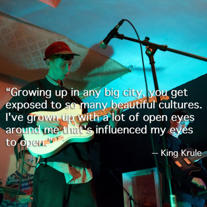 King Krule live at Shea Stadium, Brooklyn, October 2011