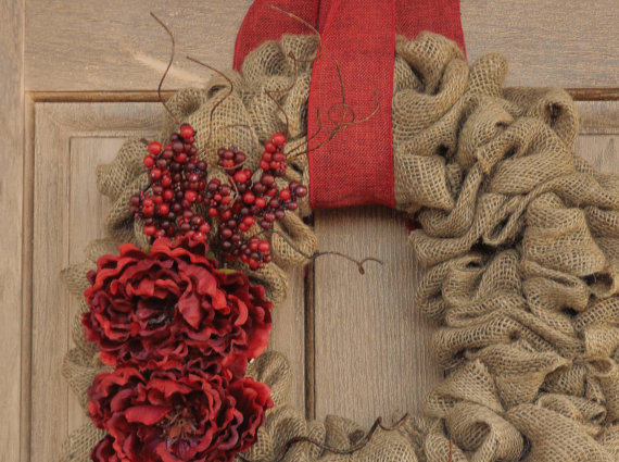 For the love of burlap  The Holidays hottest decorating tool  DESIGNED