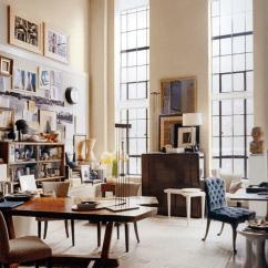 High Ceiling Living Room Decor Ideas Modern Luxury How To Decorate A With Ceilings Designed Designer Thomas O Brien Aero Studios