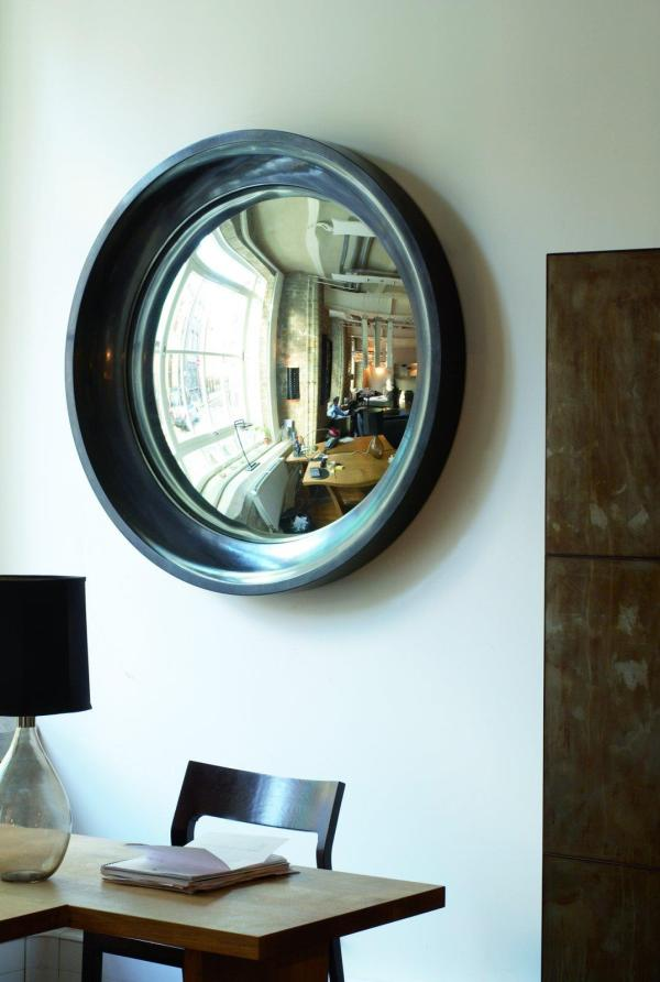 Interiors Turned Abstract Wall Art Convex Mirror