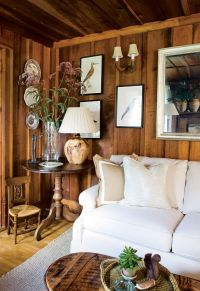 How To Make A Dark Paneled Room Look Fresh & Light  DESIGNED
