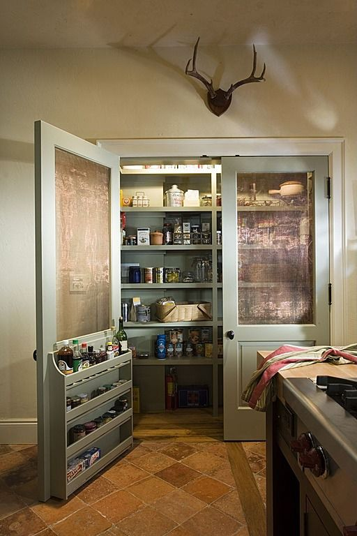 where to buy used kitchen cabinets table for two why a cool pantry door is the secret ingredient ...