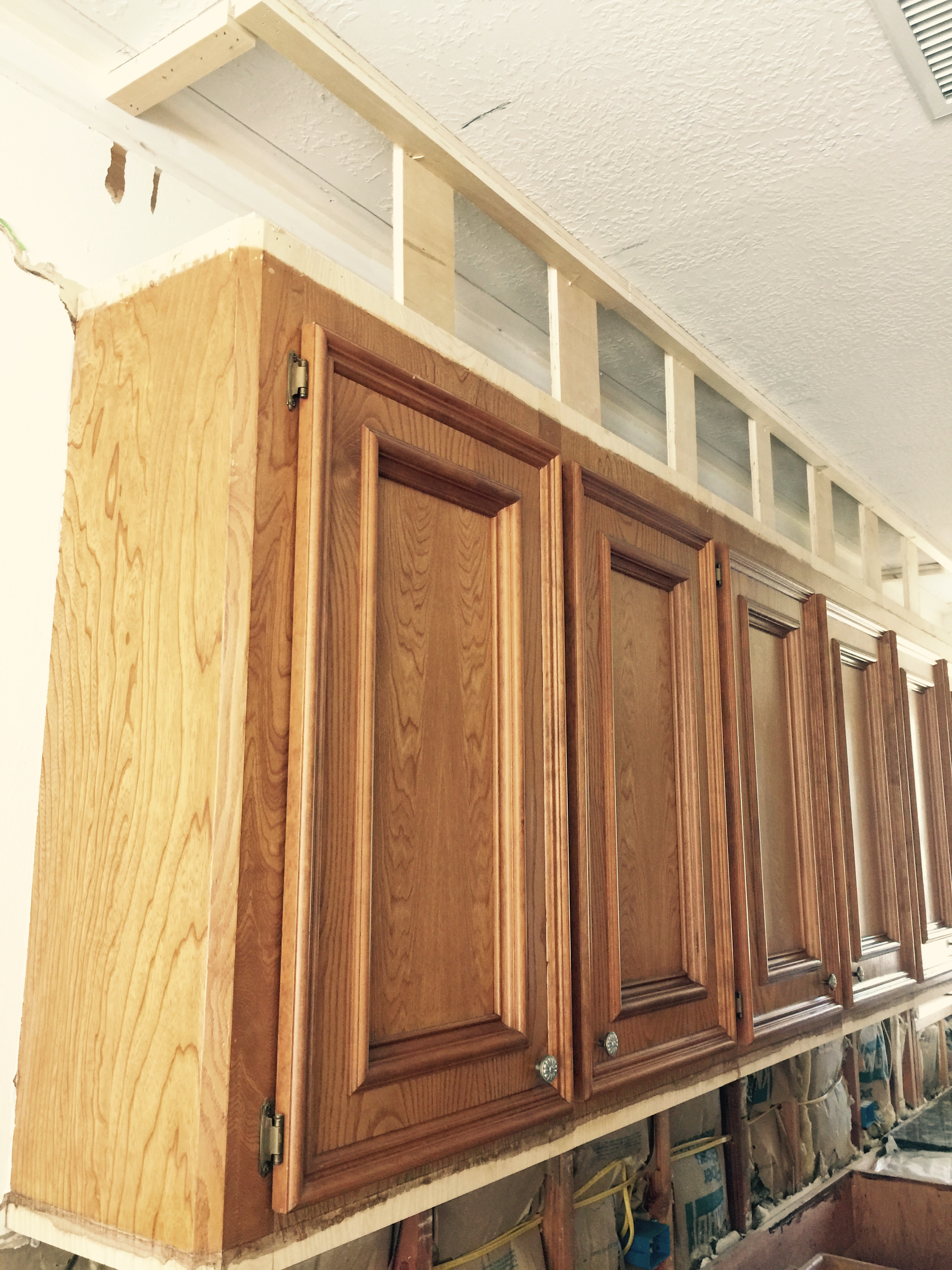 how to make kitchen cabinets big lots appliances ugly look great designed under construction