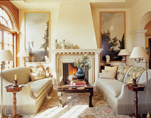living room couch and loveseat layout pics of sofas why you should arrange two identical opposite each other image via house beautiful designer paul wiseman