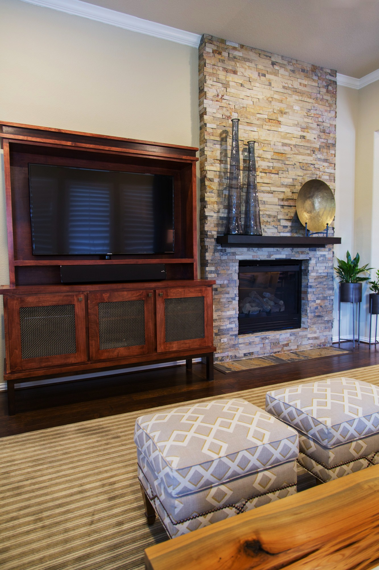Your Fireplace Walls Finish Consider This Important Detail With Tile Or Stone Cladding  DESIGNED