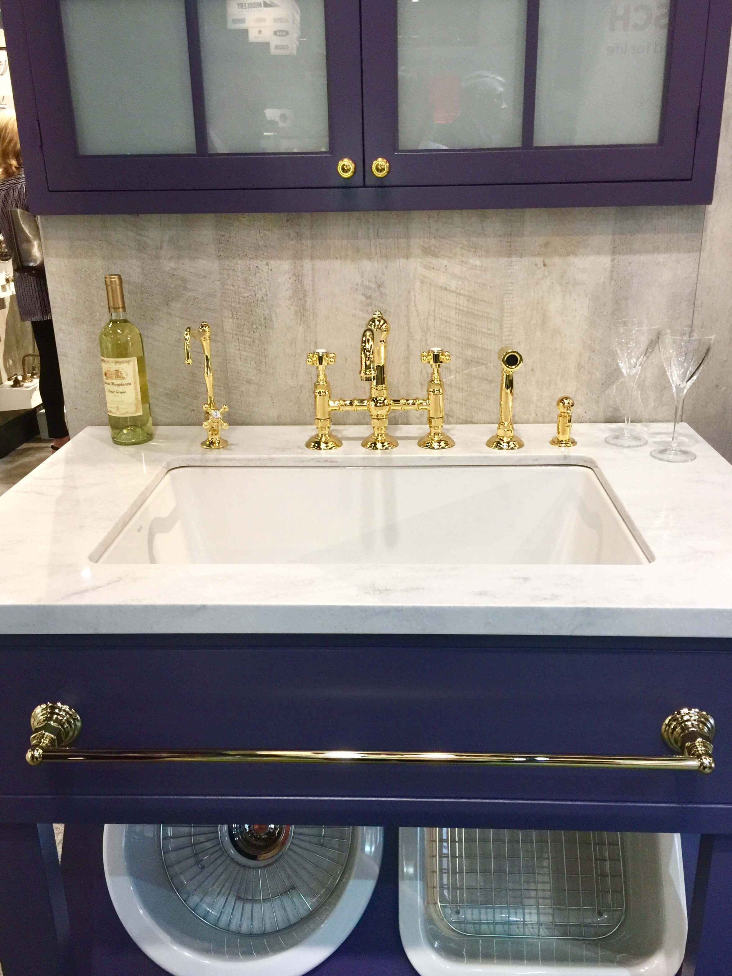 kohler undermount kitchen sink curtain for window and bath trends at kbis 2017 - color finishes ...
