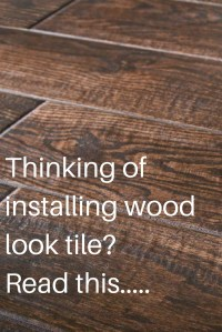 How To Lay Tile Floor That Looks Like Wood | Review Home Co