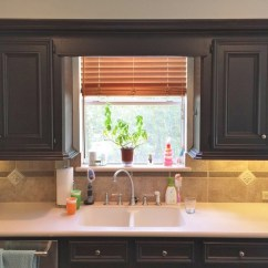 Kitchen Windows Ranges Those Pesky Little And How To Make Them Look Bigger Before Pic Of One My Projects