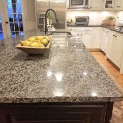 Simple Kitchen Island Tops How A Countertop Change Can Totally Update Before Spotty Granite On The