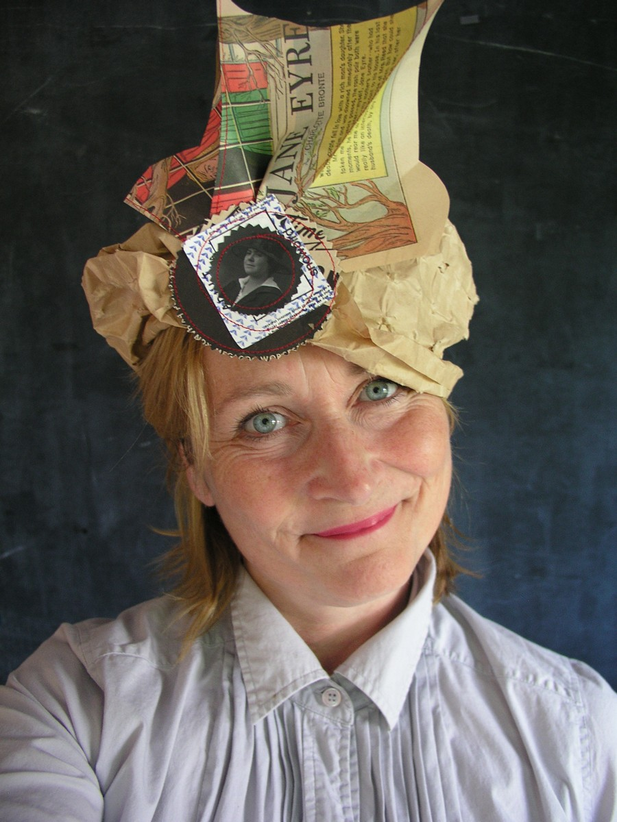 paper hats by Alyn Carlson  UPPERCASE