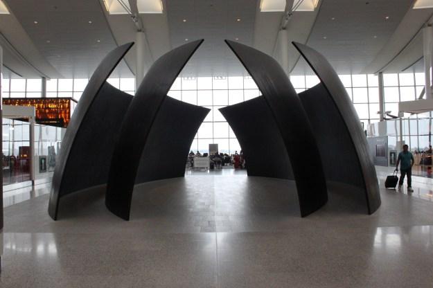 YYZ Terminal Sculpture