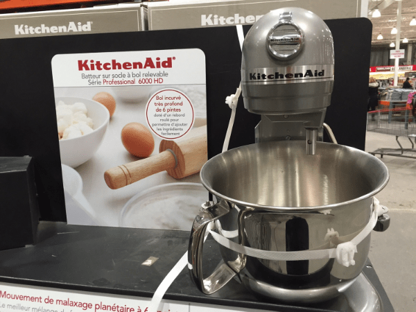 costco kitchen aid 4 piece stainless steel package trouvailles je suis une maman