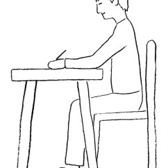 Japanese Posture Chair Wheelchair Winch While Drawing Or Writing - Draw Your World & Write Together
