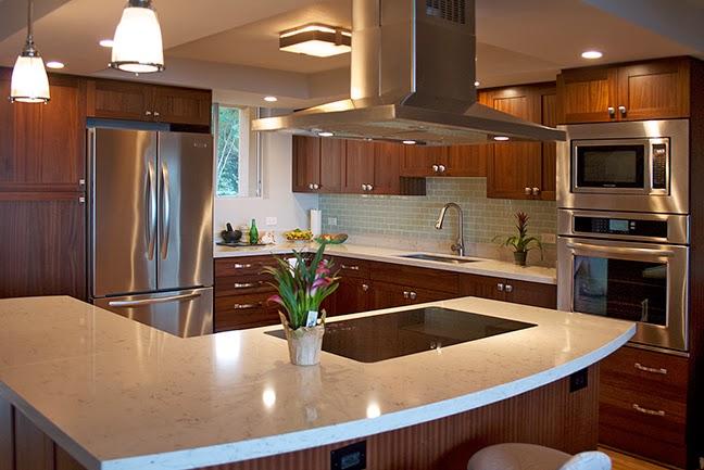 Sapele Kitchen From Design Trends Construction Open Door