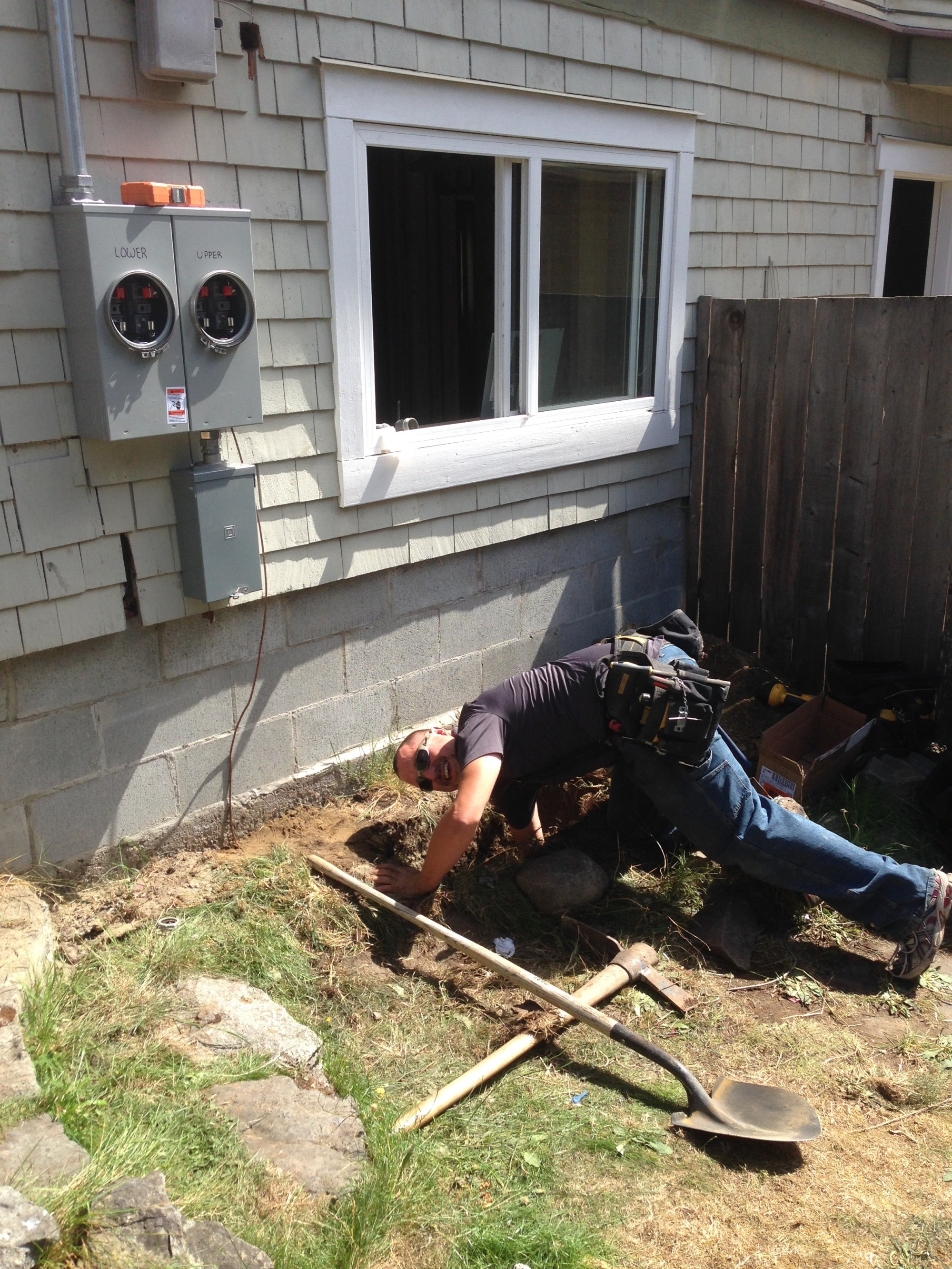 hight resolution of 200 amp service upgrade and duplex meter base install in fernwood