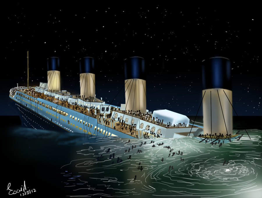 Half Fire Half Water Car Wallpapers The Sinking Of Titanic Ultimate Titanic