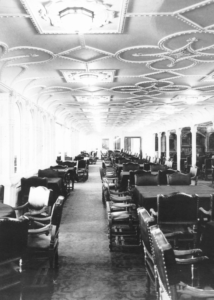 inside the titanic diagram switch to light wiring ultimate first class lounge this edwardian inspired is were passengers would gather