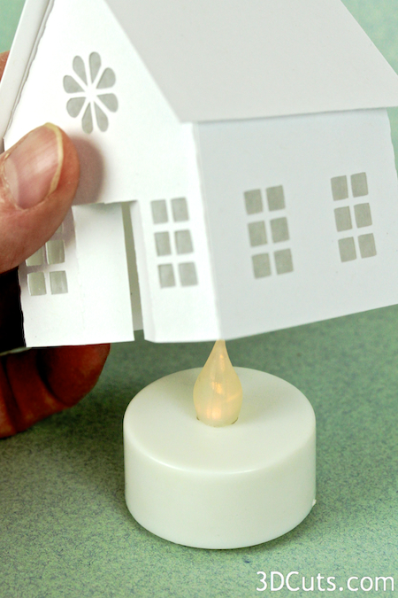 Tutorial  Tea Light Village Basic Building  3DCutscom