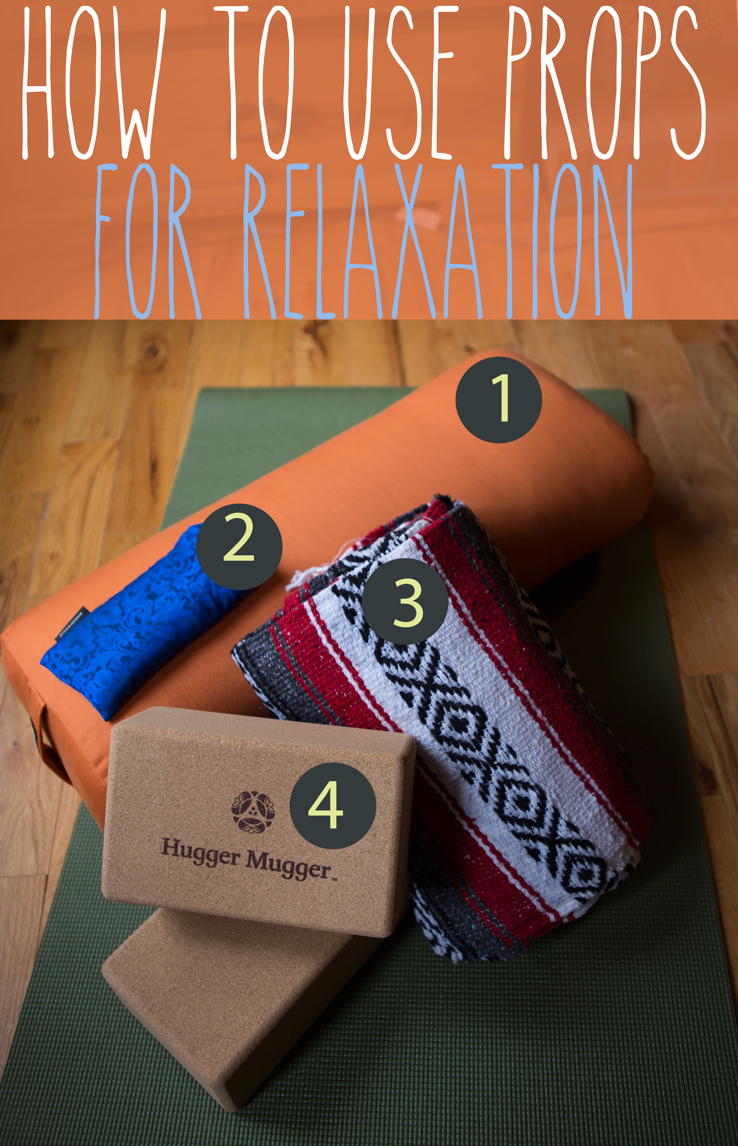 3 Ways to Use Yoga Props for Yin Yoga  A Giveaway