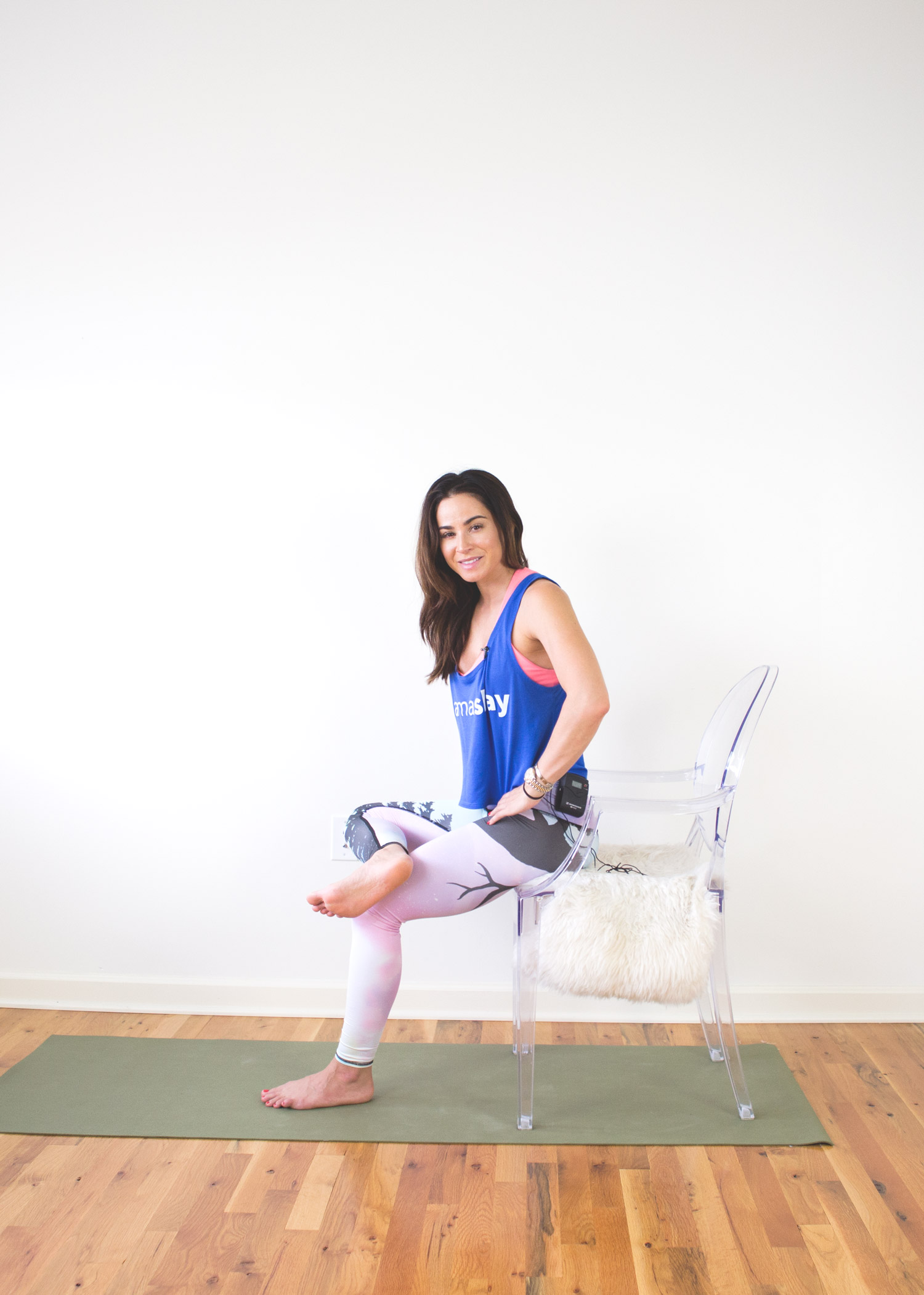 Chair Pants Chair Yoga For Tight Hips Yogabycandace