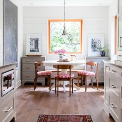 Kitchen Table Nook Stainless Steel Shelves Before After Breakfast The House Diaries Thehousediaries Com