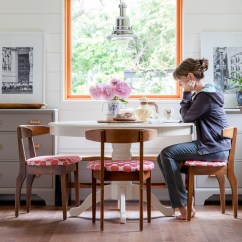 Kitchen Table Nook Cast Iron Sinks For Sale Before After Breakfast The House Diaries Thehousediaries Com